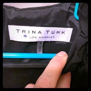 Trina Turk black sleek and sexy dress